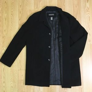 Banana Republic - Men's Black Peacoat